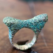 14 piccole creature jewelry formentera  bronze ring